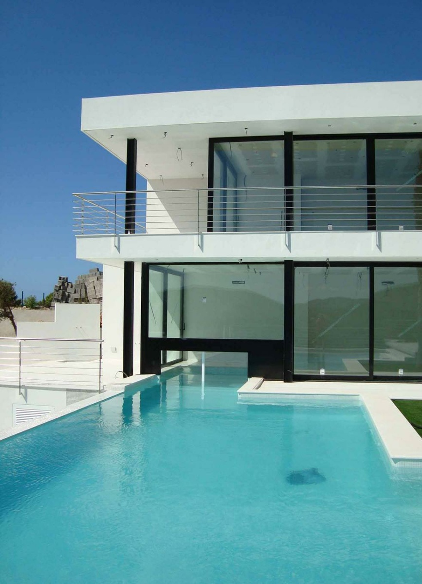 Modern Luxury Villas Designed By Gal Marom Architects: Luxury Contemporary Villas And