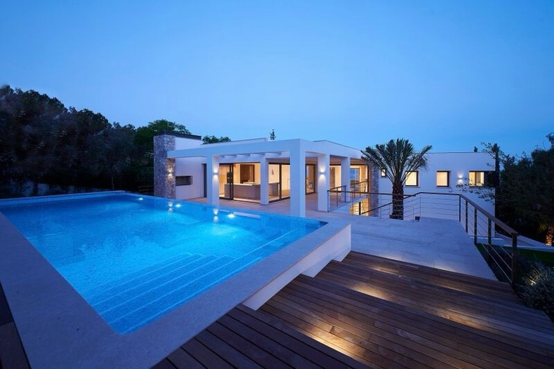 Villa for sale in Costa D'en Blanes, Mallorca.