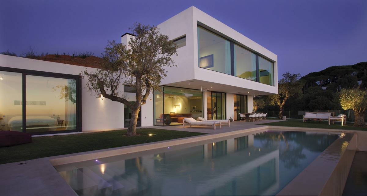 contemporary new build villa Elviria Marbella
