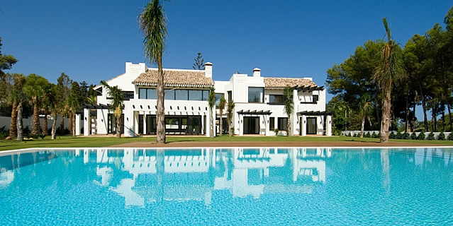 modern luxury villa near beach and Guadalmina golf