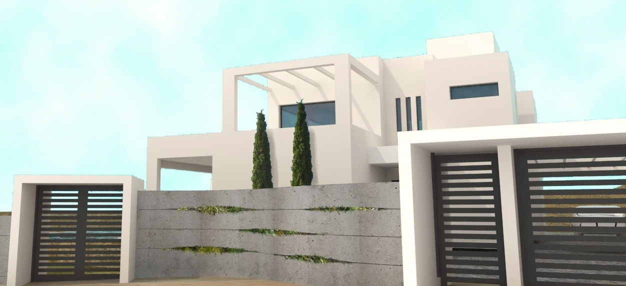 Modern new build villa - under construction - San Pedro