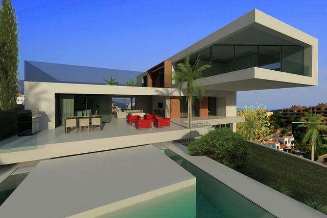 modern design homes for sale in marbella club golf. Black Bedroom Furniture Sets. Home Design Ideas