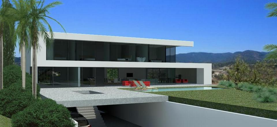 Modern design homes for sale in marbella club golf for Minimalist house for sale
