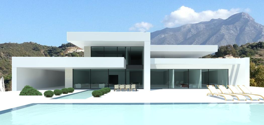 La alqueria villas modern contemporary design villas for for Villa moderne plan